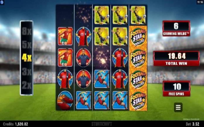 Besplatni spinovi,online casino bonus-Football star deluxe