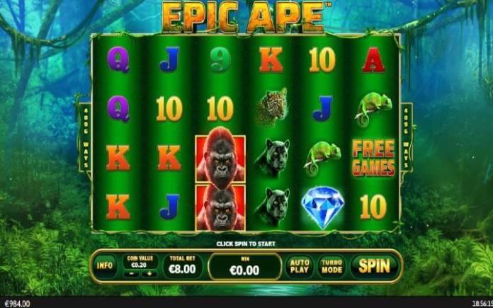Epic Ape-online casino bonus-playtech