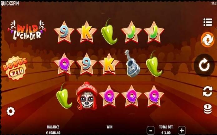 wild luchador-online casino bonus-quickspin
