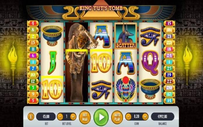 džoker-online casino bonus-king tuts tomb