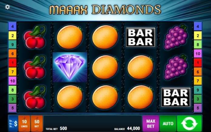 maaax diamonds-online casino bonus-gamomat