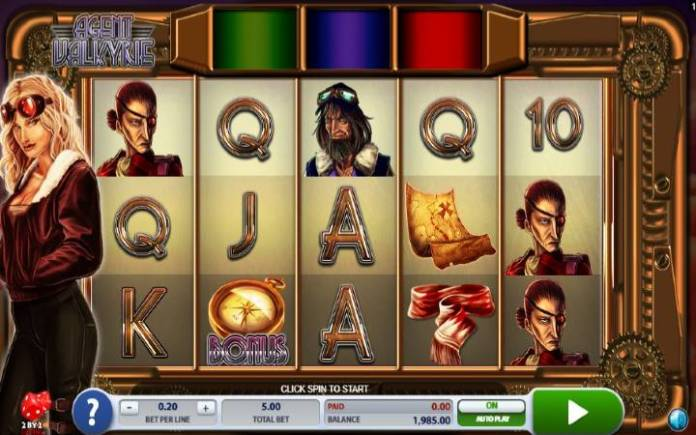 Agent Valkyrie-online casino bonus-microgaming