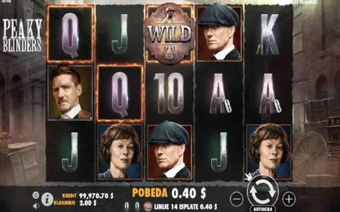 Džoker-online casino bonus-Peaky Blinders