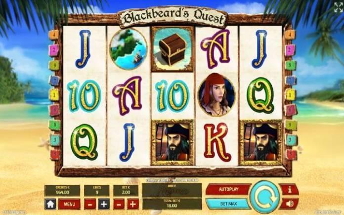 Blackbeards Quest-online casino bonus-osnovna igra-tom horn