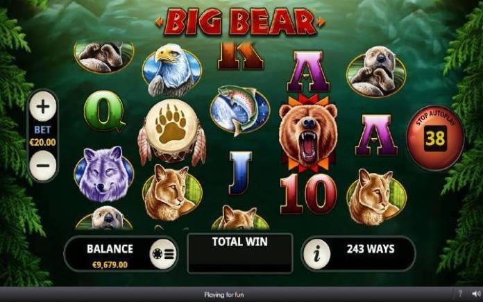 Big Bear-online casino bonus-osnovna igra