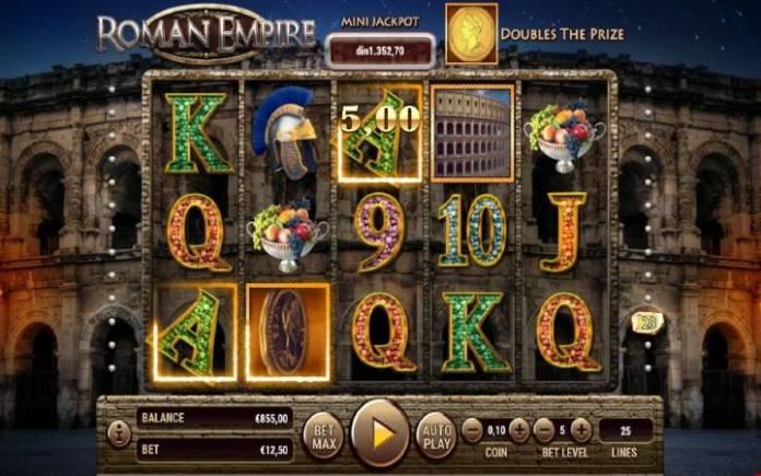 Džoker-roman empire-habanero-online casino bonus
