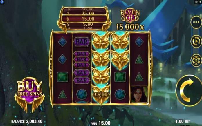 scatter-online casino bonus-elven gold-microgaming