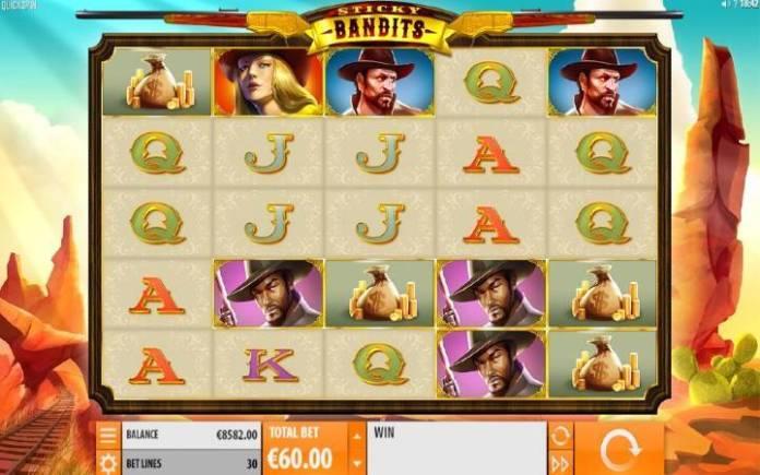 Sticky Bandits-online casino bonus-quickspin