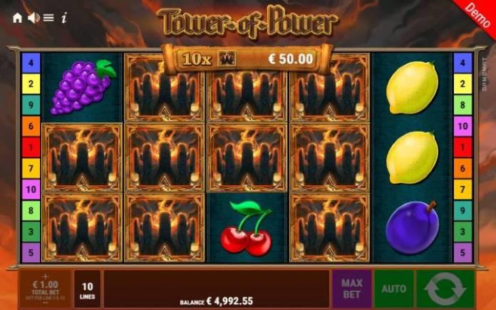 Scatter-online casino bonus-tower of power