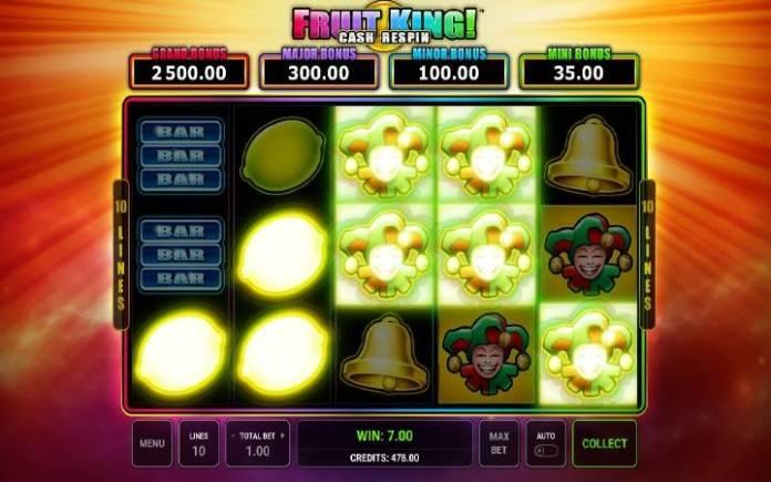 džoker-online casino bonus-fruit king