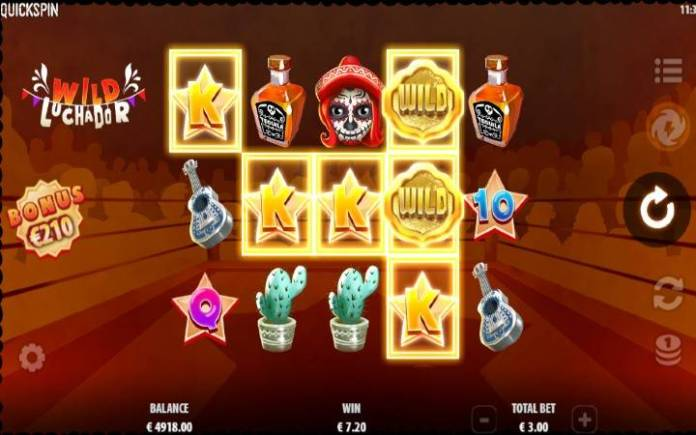 Džoker-online casino bonus-wild luchador-quickspin