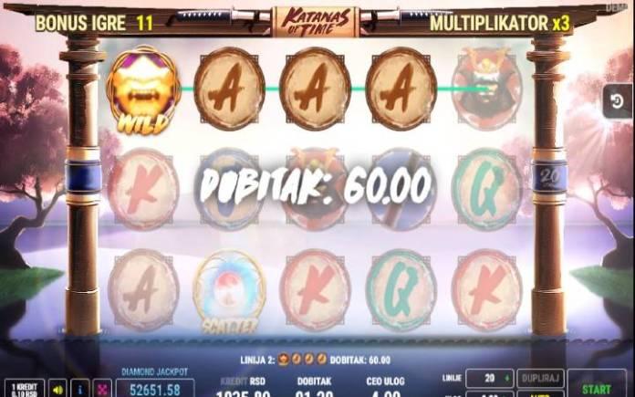 Besplatni spinovi-katanas of time-online casino bonus