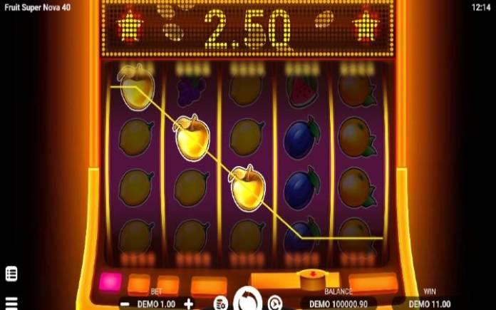 zlatna jabuka-fruit super nova 40-evoplay-online casino bonus