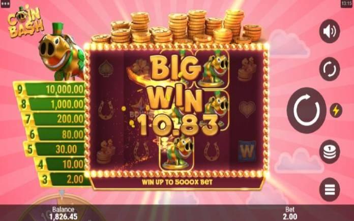 coin spin-coin bash-online casino bonus-microgaming