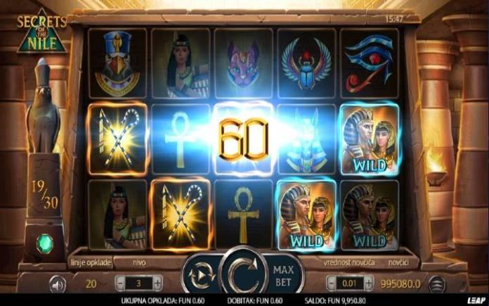 Online casino bonus-džokeri-secrets of the nile-leap