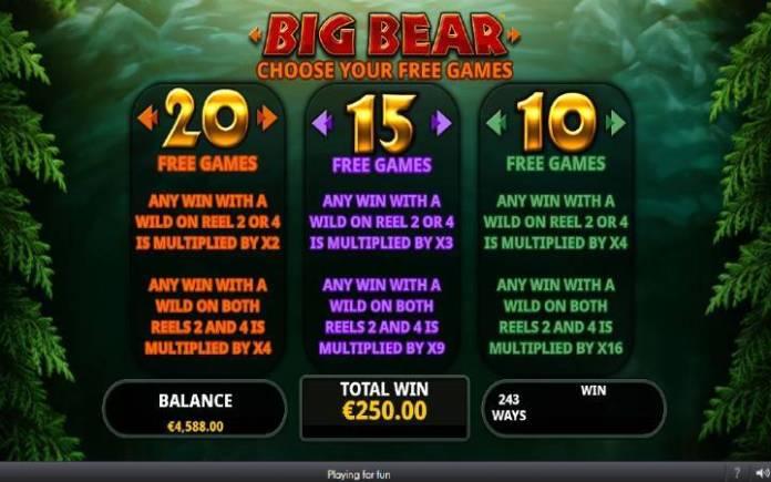 Besplatni spinovi-big bear-online casino bonus