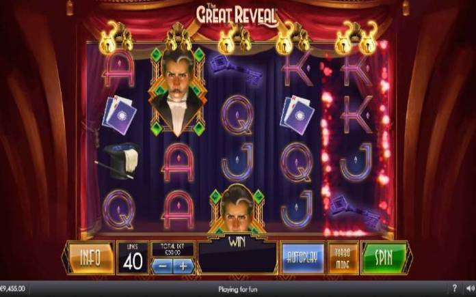 The Great Reveal-online casino bonus-playtech
