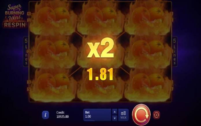 Respin Bonus-dupli dobitak-online casino bonus-super burning wins respin-playson