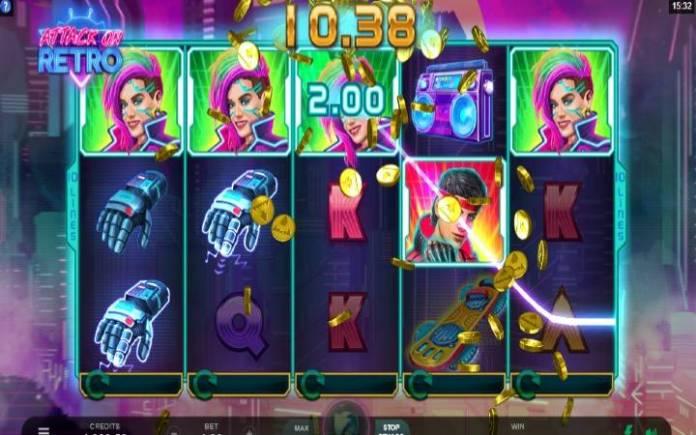 Džoker-online casino bonus-attack on retro-microgaming