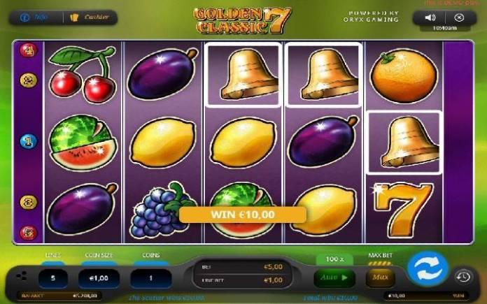 Scatter-online casino bonus-golden 7 classic-oryx