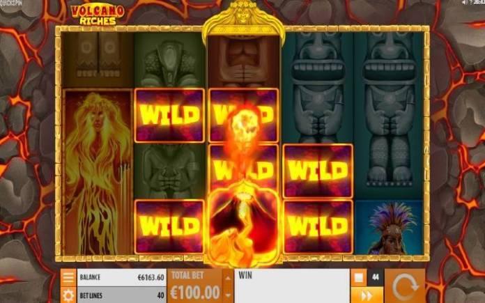 Volcano Wild-online casino bonus-quickspin