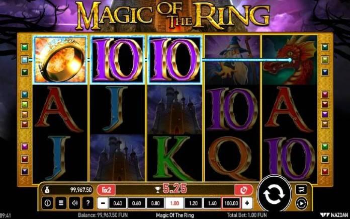 džoker-online casino bonus-magic of the ring-wazdan