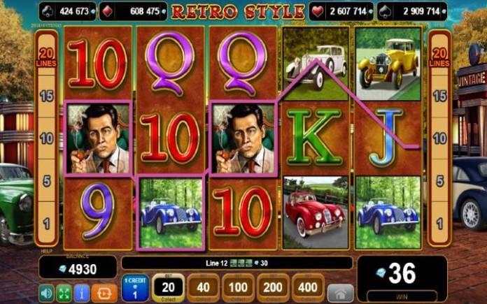 džoker-online casino bonus-retro style-egt