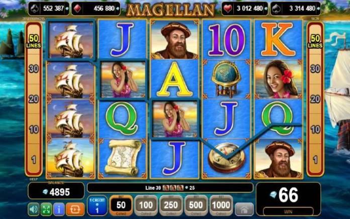 Džoker-online casino bonus-magellan-egt