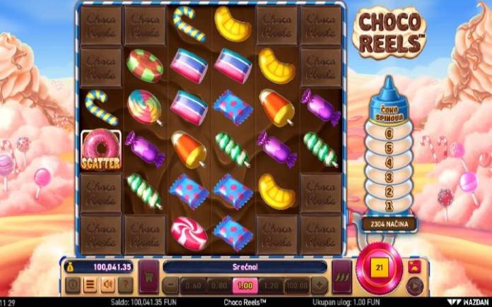 Choco Reels-online casino bonus-kockanje