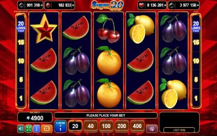 Super 20-online casino bonus-egt