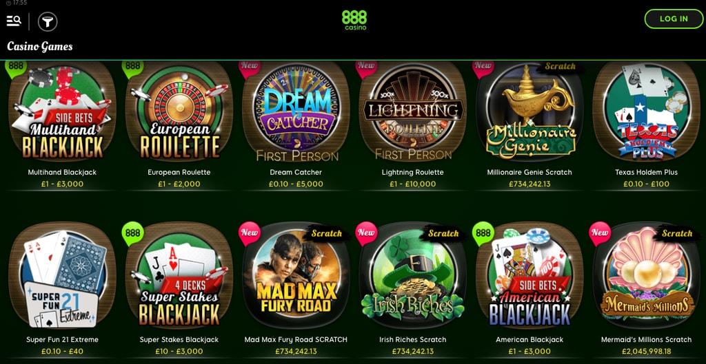 888 Casino Games Ios