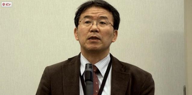 鳥畑与一静岡大教授画像本人写真