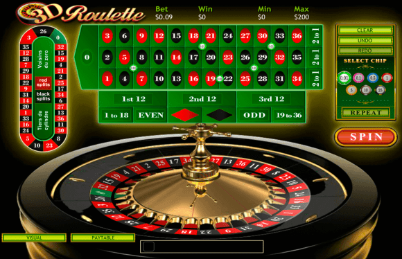 Play 3D Roulette by Playtech | FREE Roulette Games