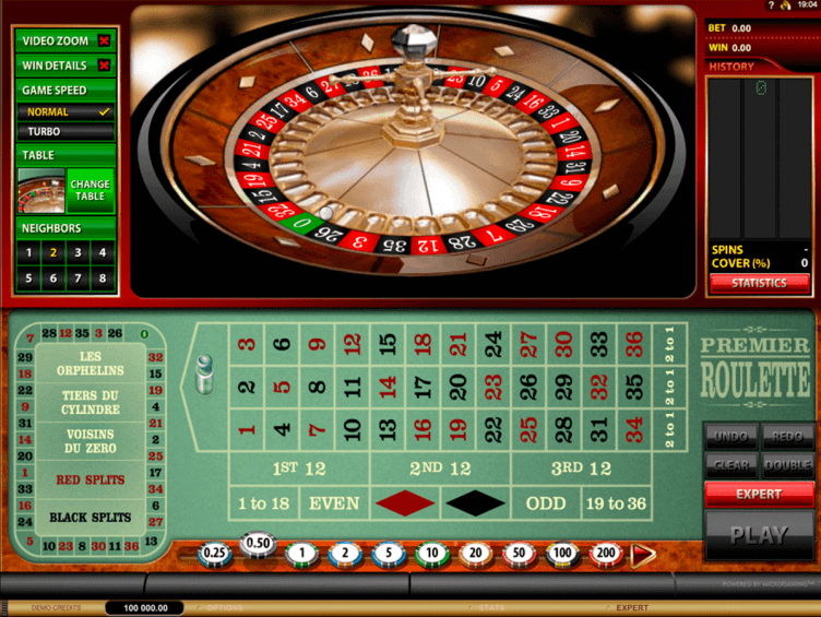 Play Premier Roulette by Microgaming | FREE Roulette Games