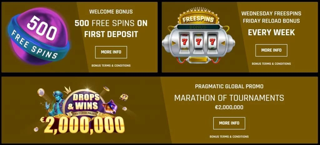 Casino Universe Promoties