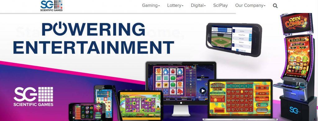 Scientific Games Website