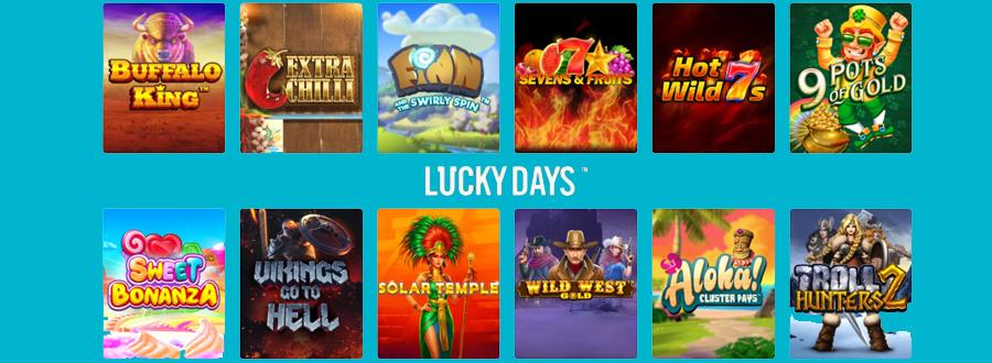 Lucky Days gokkasten