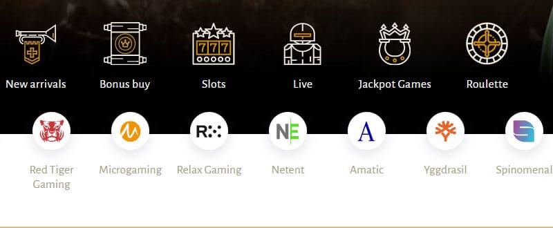 Meer aanbod in het online casino