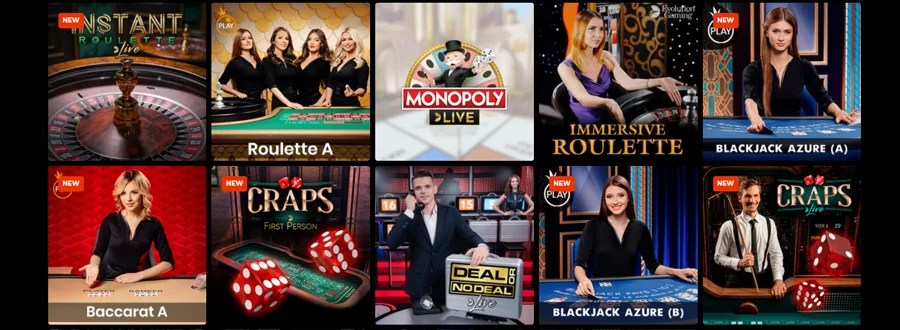 N1 Casino live casino