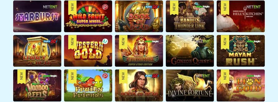 Play Frank Casino Klassieke slots