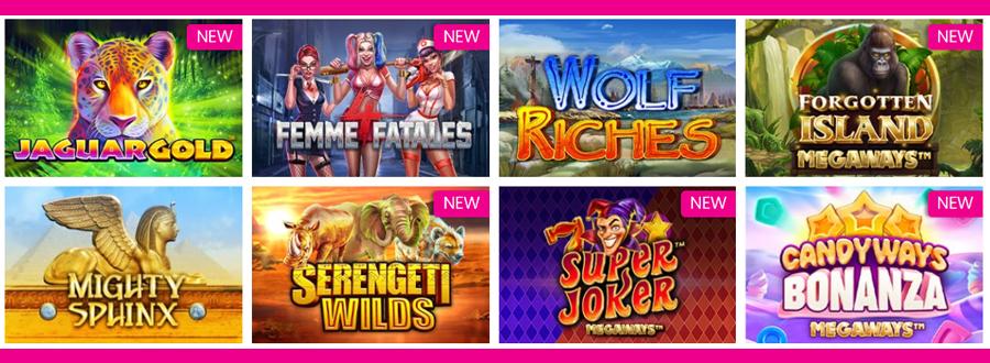 Queen Play Casino spelaanbod