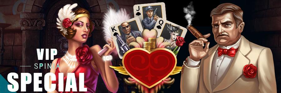 Spinia Casino vip programma