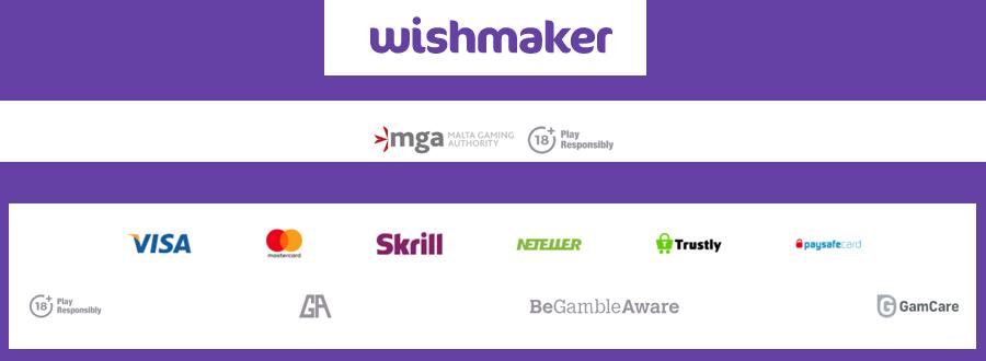 Wishmaker betalingsmethode