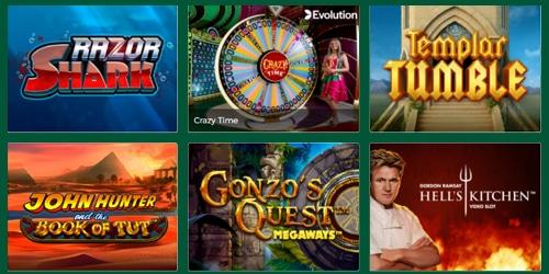 Mr Green werkt met vele grote spelproviders samen