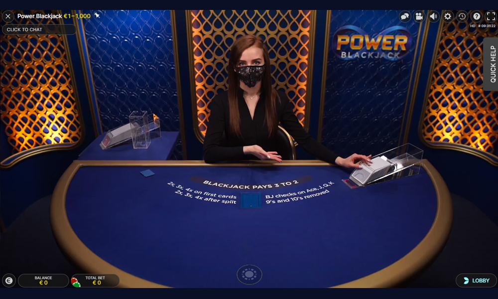 Power Blackjack kent een extra element waar je meer winst mee kan maken