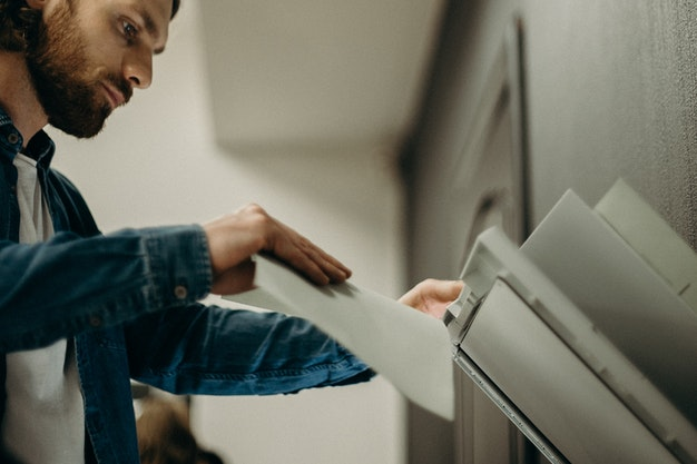 The printer used to print checks