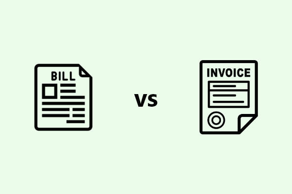 Bill and invoices