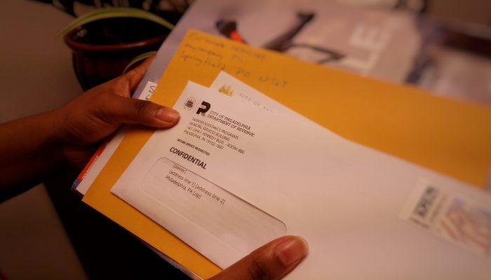 Check in the mail