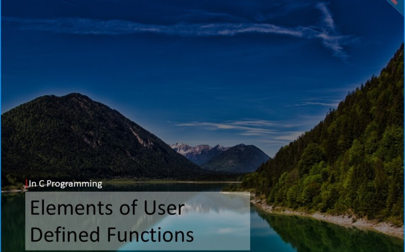 elements-of-user-defined-functions