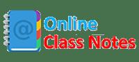 Online Class Notes Logo